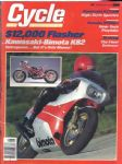 CYCLE - MOTORCYCLE MAGAZINE - SEPTEMBER 1982 - M2133